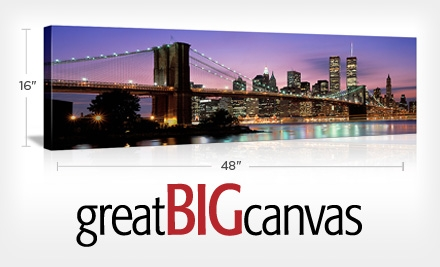 Great Big Canvas Groupon